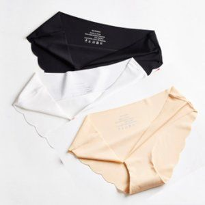 Invisible Panties Line Set of 3 Black, White, Skin